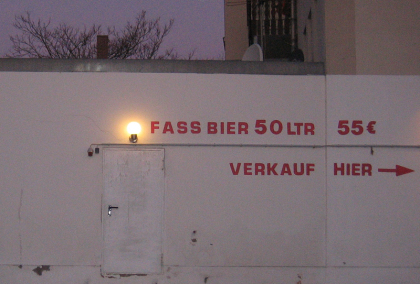 Fass Bier