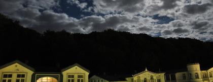 Himmel und Häuser